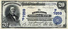 Description: 02 Redlands National Bank note.jpg